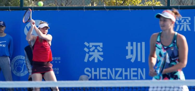 România va avea reprezentante în semifinale la dublu la Shenzhen