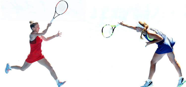 Halep şi Wozniacki luptă pentru primul titlu de Mare Şlem