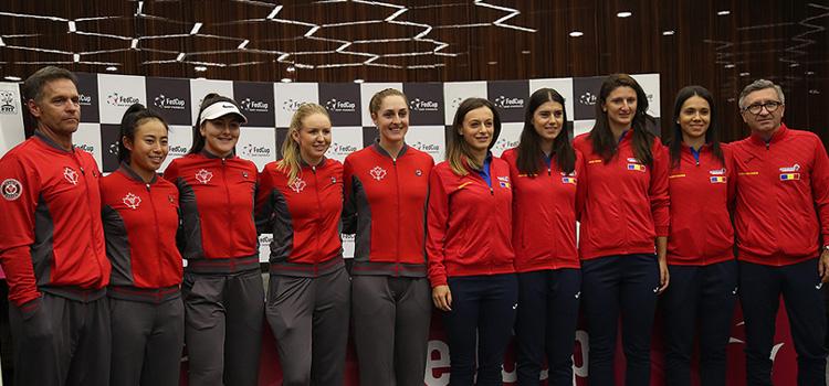 Jucătoarele din Canada le conduc pe românce la meciurile directe