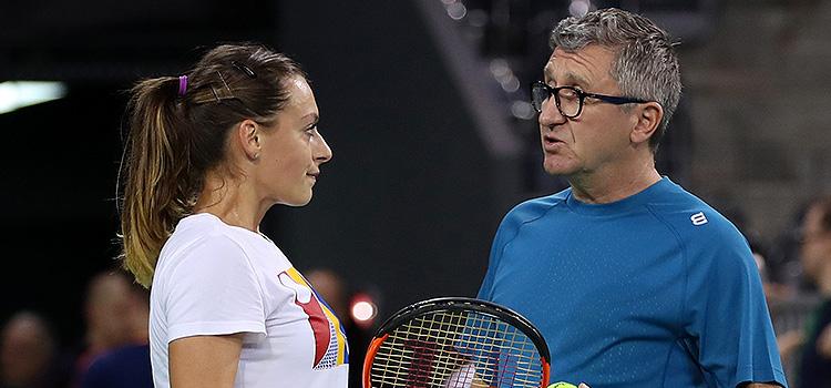 Imagini de la antrenamentul de vineri al Anei Bogdan şi Ralucăi-Ioana Olaru