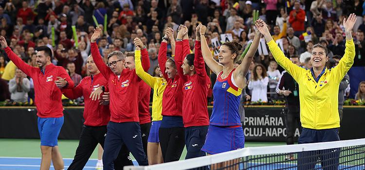 Irina-Camelia Begu a adus punctul victoriei pentru România