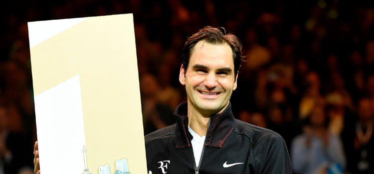 Roger Federer este cel mai vârstnic lider ATP din istorie