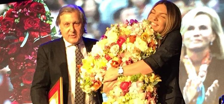 Simona Halep a primit titlul de cetăţean de onoare al Bucureştilor