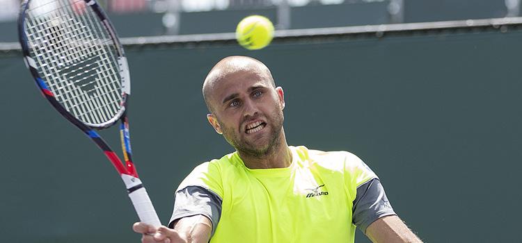 Imagini de la meciul Marius Copil - Karen Khachanov din turul 2 la Miami Open