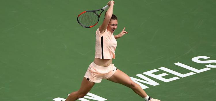 Halep joacă pentru un loc în semifinale la Indian Wells cu Martić