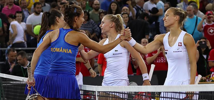 Cîrstea şi Buzărnescu au fost învinse într-un meci fără miză