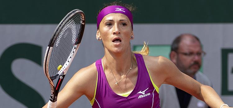 Cadanţu a fost eliminată de Zanevska în primul tur al calificărilor pentru Roland Garros