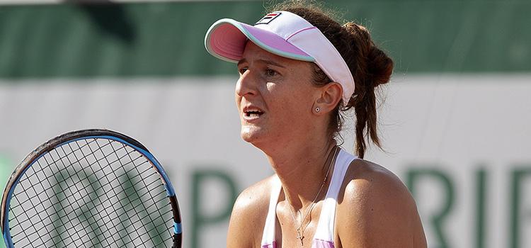 Imagini de la meciul Irina-Camelia Begu - Caroline Garcia din turul 3 la Roland Garros