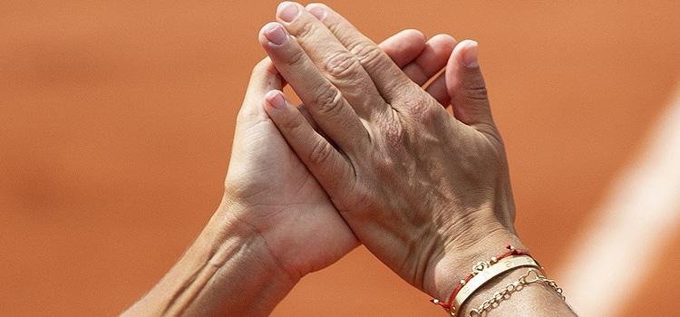 Imagini de la meciul Bara, Buzărnescu - King, Brady din optimi la Roland Garros