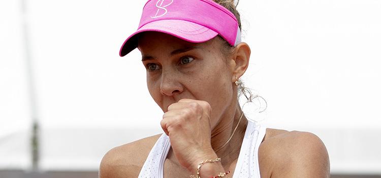 S-a încheiat aventura Mihaelei Buzărnescu la turneul parizian