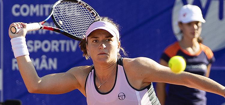 Imagini de la meciul Alexandra Dulgheru - Pauline Parmentier din turul 1 la BRD Bucharest Open