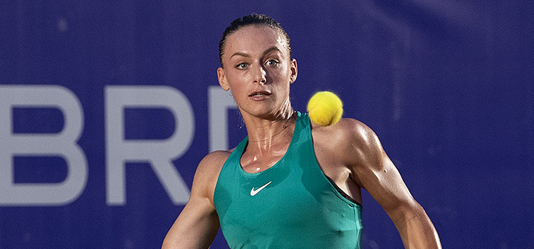 Imagini de la meciul Ana Bogdan - Anna Karolina Schmiedlova din turul 1 la BRD Bucharest Open
