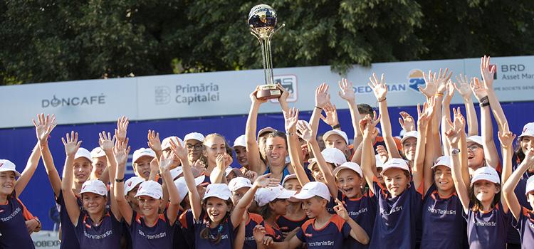 Primul trofeul în acest an şi al treilea al carierei pentru Sevastova