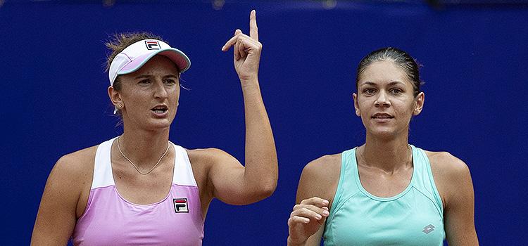 Imagini de la meciul Irina-Camelia Begu, Cristina Andreea Mitu - Lidziya Marozava, Arantxa Rus din turul 2 la BRD Bucharest Open