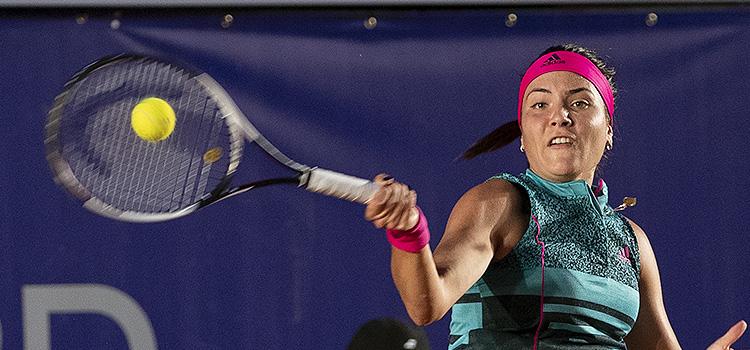 Imagini de la meciul Elena Gabriel Ruse - Polona Hercog din turul 1 la BRD Bucharest Open