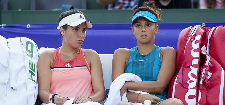 Imagini de la meciul Jaqueline Cristian, Elena Ruse - Basak Eraydin, Vera Zvonareva din turul 1 la dublu