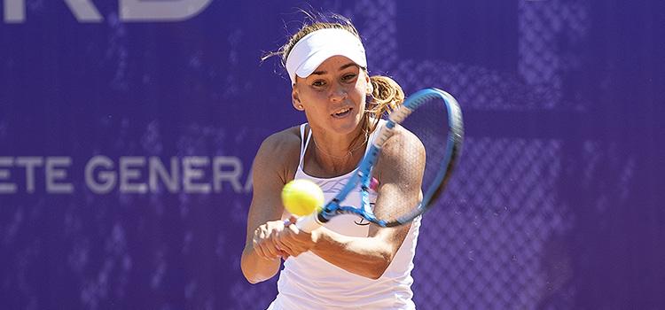 Imagini de la meciul Irina Maria Bara - Alexandra Cadantu din turul 3 al calificărilor la BRD Bucharest Open
