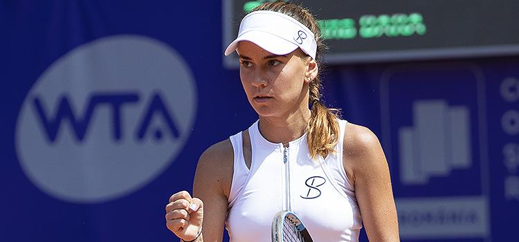 Imagini de la meciul Irina Maria Bara - Viktoriya Tomova din turul 1 la BRD Bucharest Open