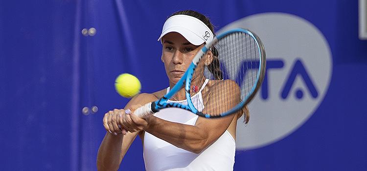 Imagini de la meciul Irina Maria Bara, Nicola Geuer - Polina Leykina, Ulrikke Eikerie din turul 1 la BRD Bucharest Open