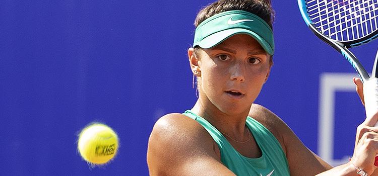 Imagini de la meciul Jaqueline Adina Cristian - Anna Bondar din turul 2 al calificărilor la BRD Bucharest Open