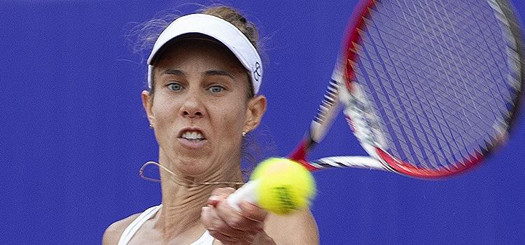 Imagini de la meciul Mihaela Buzarnescu - Petra Martić din semifinale la BRD Bucharest Open