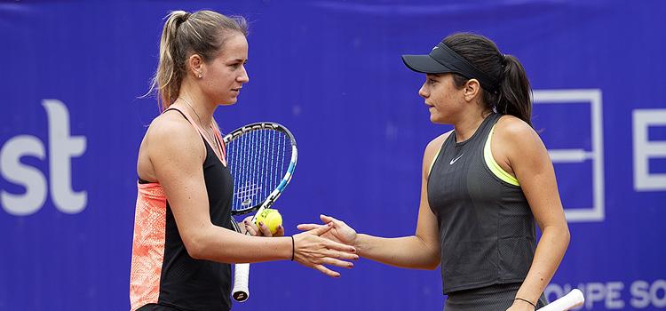Imagini de la meciul Miriam Bianca Bulgaru, Anna Bondar - Monique Adamczak, Jessica Moore din turul 1 la BRD Bucharest Open