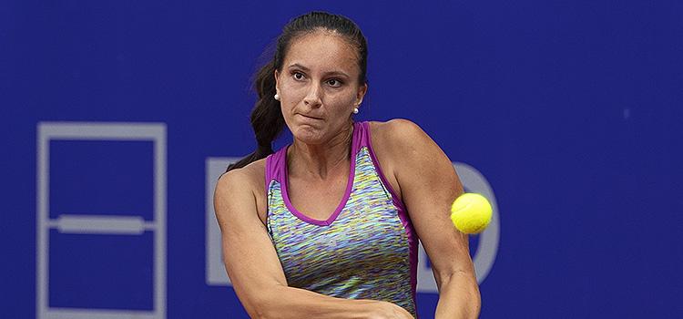 Imagini de la meciul Nicoleta Catalina Dascalu - Georgina Garcia Perez din turul 2 al calificărilor la BRD Bucharest Open
