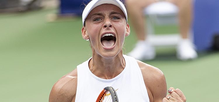 Ana Bogdan a eliminat campioana de la Citi Open