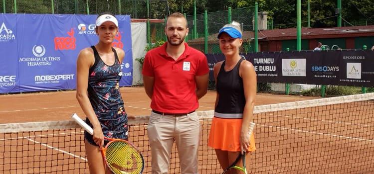 Cristina-Andreea Mitu a fost eliminată în optimi la turneul de la Bucureşti