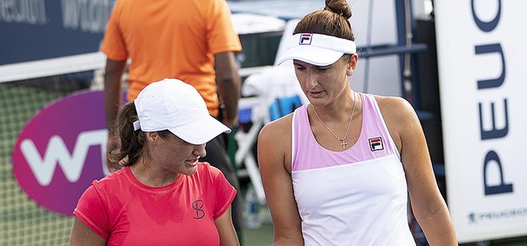 Imagini de la meciul Irina-Camelia Begu, Monica Niculescu - Kaitlyn Christian, Sabrina Satamaria din turul 1 la CIncinnati