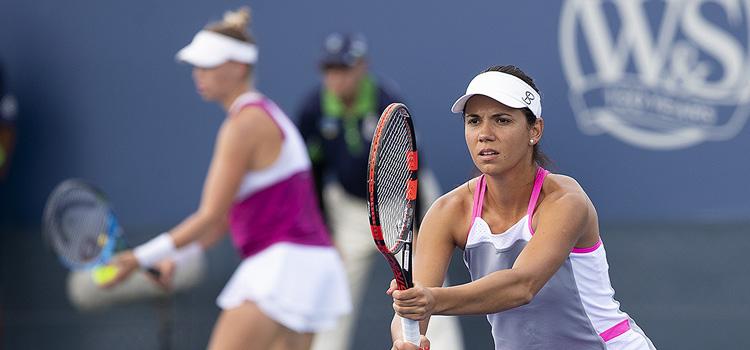 Imagini de la meciul Raluca-Ioana Olaru, Vera Zvonareva - Vania King, Katarina Srebotnik din Turul 1 la Cincinnati