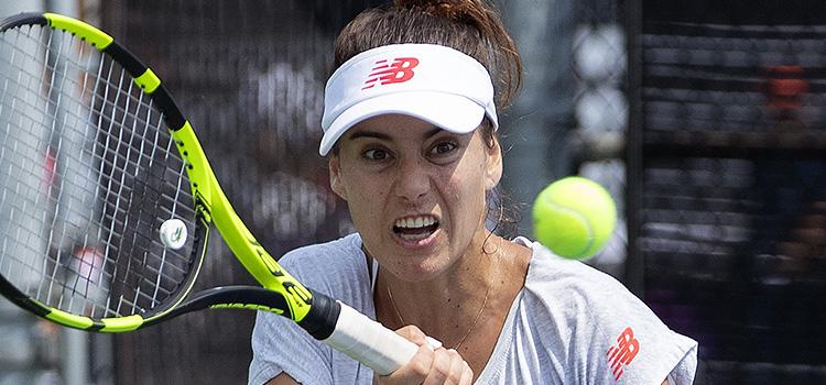 Imagini de la antrenamentul de luni al Soranei-Mihaela Cîrstea la Rogers Cup
