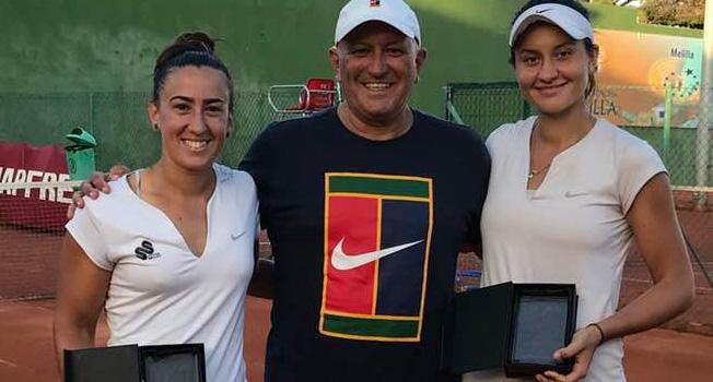 Ioana Roşca este campioană la dublu şi joacă finala la simplu la Melilla