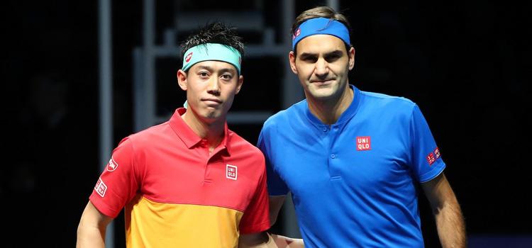 Nishikori l-a învins pe Federer la Turneul Campionilor