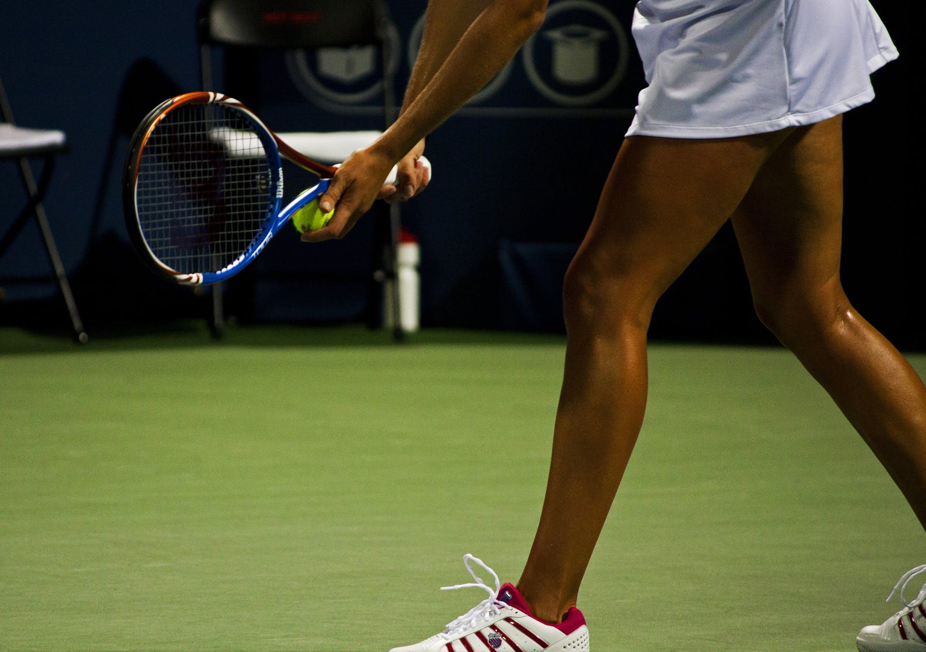 Vestimentație, numere și noroc în tenis