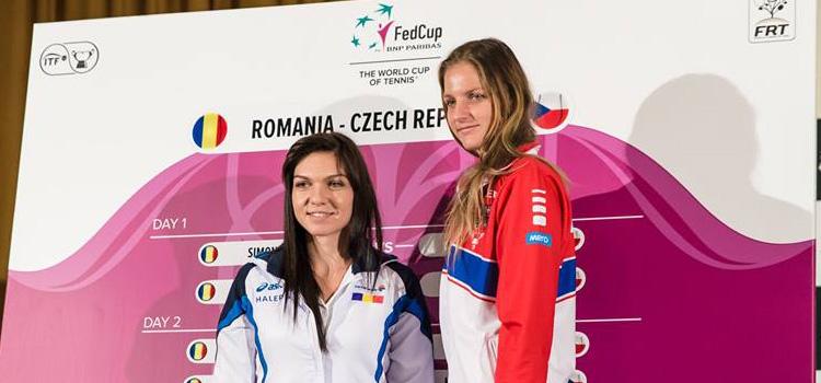 Patru cehoaice împotriva a cinci românce în primul tur al Grupa Mondiale a Fed Cup