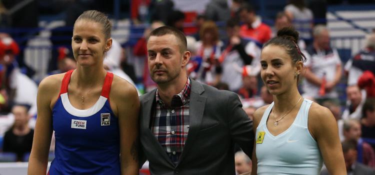 Mihaela Buzărnescu a fost deranjată de serviciul Karolínei Plíšková
