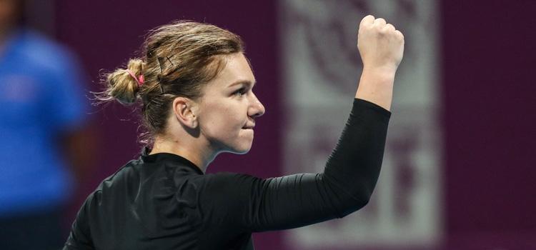 Halep o întâlneşte în semifinale la Doha pe Svitolina