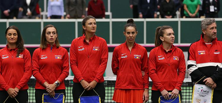 S-a stabilit lotul pentru semifinala de Fed Cup