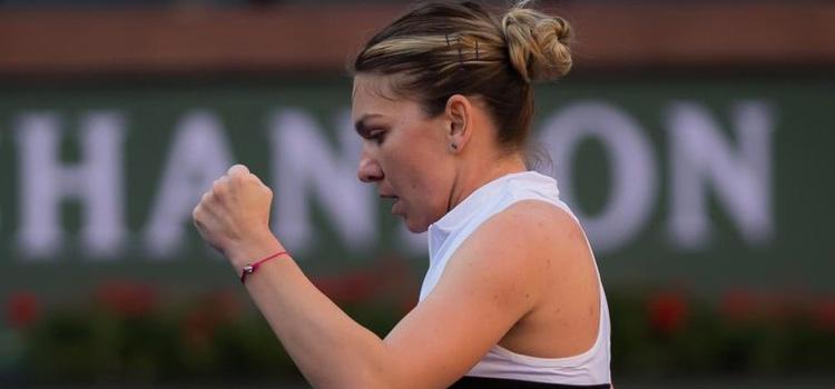 Victorie solidă a Simonei Halep şi calificare în 16-imi la Indian Wells