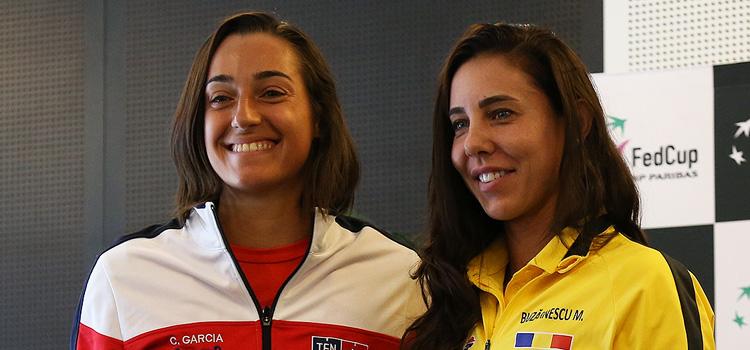 1-1 după prima zi a confruntării Franţa – România din semifinalele Fed Cup