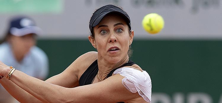 Imagini de la meciul Mihaela Buzărnescu - Ekaterina Alexandrova, din turul 1 la French Open