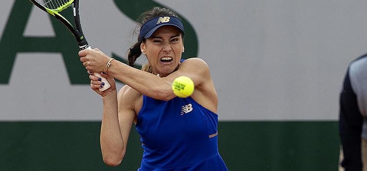 Imagini de la meciul Sorana-Mihaela Cirstea - Aliona Bolşova Zadoinov