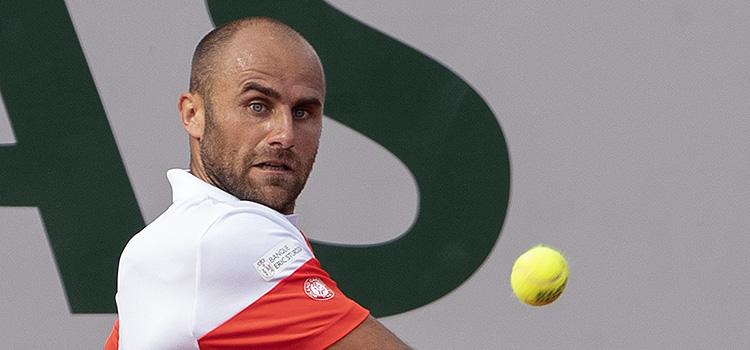 Imagini de la meciul Marius Copil - Benoît Paire din turul 1 la French Open