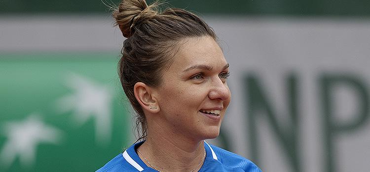 Imagini de la antrenamentul de ieri al Simonei Halep la Roland Garros