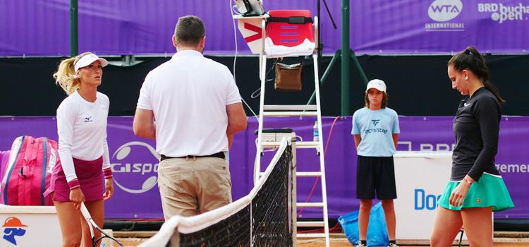 Imagini realizate la meciurile din turul 2 al calificărilor pentru BRD Bucharest Open