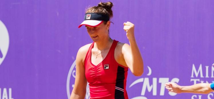 Imagini de la meciul Irina Camelia Begu - Kaja Juvan 6-4, 6-3 de miercuri