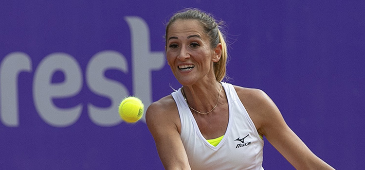 Imagini de la meciul Alexandra Cadantu - Irina Fetecau 1-6, 6-3, 6-3 din primul tur al calificărilor