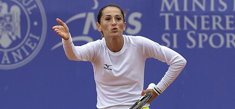 Imagini de la meciul Alexandra Cadanţu - Shilin Xu din turul 3 al calificărilor