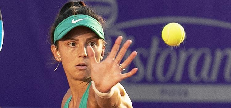 Imagini de la meciul Jacqueline Adina Cristian - Elena Rybakina 1-6, 0-6 din turul 2